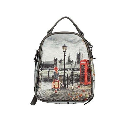 Print à London Femme dos sac Y NOT 385 K Petit RX88q6zf