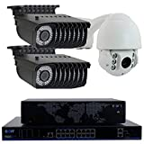 GW Security 16 Channel 4K NVR H.265 Surveillance System with 15 HD 5MP 1920p 2.8-12mm Varifocal Weatherproof PoE IP Bullet Security Cameras, and 1 10X Zoom 4MP 1520p IP PTZ Camera Review