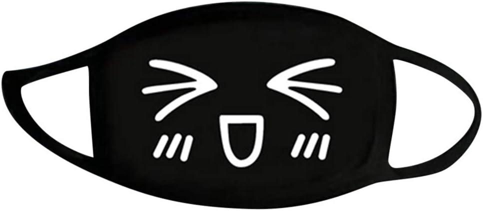 Reasoncool Reuse Printed Niedliche Anti Staub Kawaii Muffel Sonnenschutz Waschbar H/ängendes Ohr Bandana Gesichts Ohrschlaufen