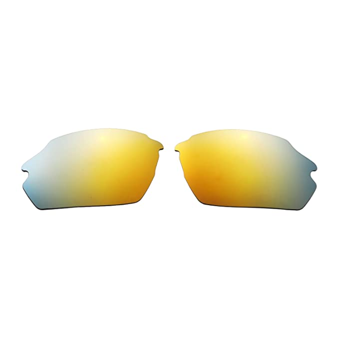 eab1e89018 Amazon.com  Walleva Replacement Lenses for Smith Parallel Max Sunglasses - Multiple  Options Available (24K Gold - Polarized)  Clothing