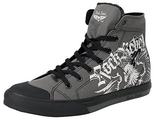 Rock Rebel by EMP Evil Eagle Sneaker Sneaker Grau Grau