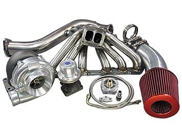 Amazon com: Turbo Kit GS300 SC300 SUPRA 2JZGE 2JZ-GE T4 T70