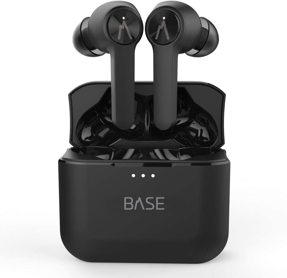 Amazon Com Base Line True Wireless Earbuds Headphones 32 Hours Bluetooth 5 Dual Mic Noise Canceling Charging Case Deep Bass Sound Headset Small Earphones For Android Samsung Iphone With Volume Control Home Audio