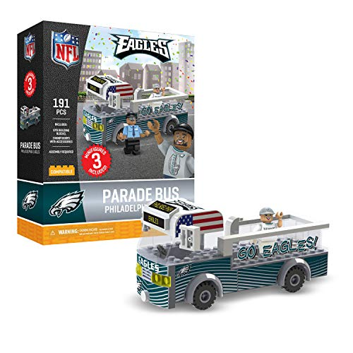 Used, Philadelphia Eagles OYO Sports Toys Parade Bus Set for sale  Delivered anywhere in USA