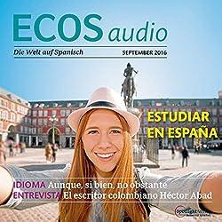 ECOS audio - Estudiar al extranjero. 9/2016