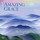 Amazing Grace 2018 12 x 12 Inch Monthly Square Wall Calendar, Religious Prayer Inspiration (Multilingual Edition)