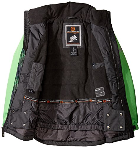 Green Country Free Heavyweight Coat Boys' Pop with Piecing 8qBq6Rf