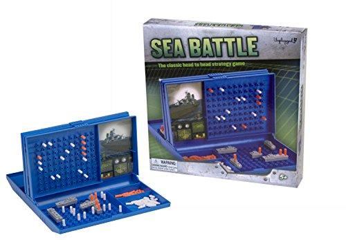 Pressman Sea Battle Family Board Game (Best Sea Battle Games)