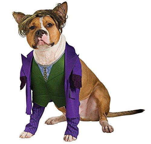 Batman The Dark Knight Joker Pet Costume, (Batman Costume For Dogs)