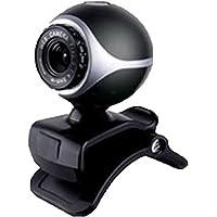 Inland 86301 0.3MP 640 x 480Pixeles USB 2.0 Negro Cámara Web - Webcam (0.3 MP, 640 x 480 Pixeles, 30 FPS, Manual, 24 bit, Auto)