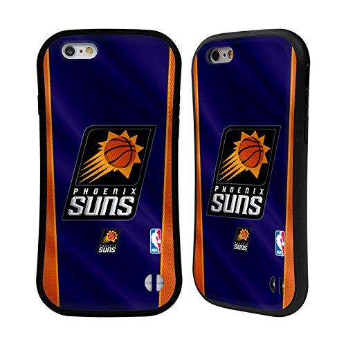 Official NBA Banner Phoenix Suns Hybrid Case for Apple iPhone 6 / 6s (Suns Phone Phoenix Cellular Case)