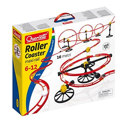 (Quercetti Skyrail Marble Run Roller Coaster 250-pc. Set )