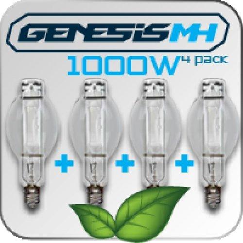 Genesis 1000 Watt MH Bulb 4 Pack by Genesis
