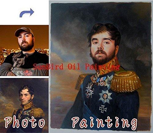 painting Custom oil portrait painting Original Portrait Wedding product image