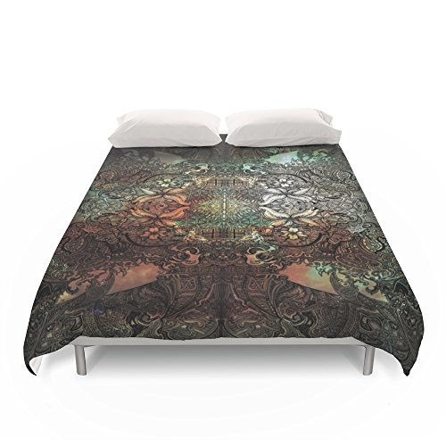 Society6 Second Meditation Duvet Covers Full: 79'' x 79'' by Society6