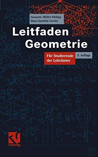 Leitfaden Geometrie: Für Studierende der Lehrämter