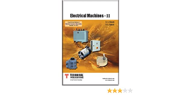 Dc Machines And Synchronous Machines Bakshi Ebook