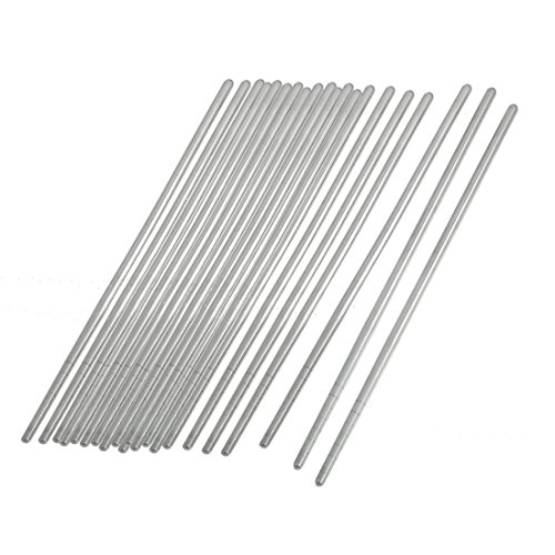Stainless Steel Tapered Chopsticks Silver