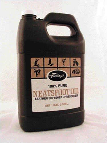 Fiebings - 100% Pure Neatsfoot Oil , Natural Preservative , Various Sizes, 1 Gallon  ()