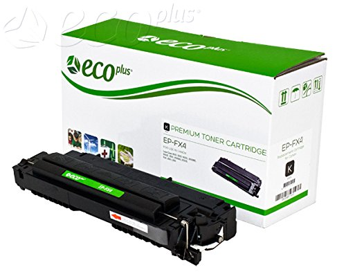 Canon Reman Toner - ECOPLUS REMAN TONER CTG, BLACK, 4K YIELD. Replaces CANON FX4