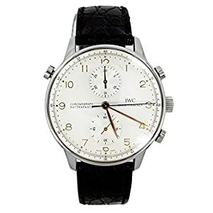 IWC Portuguese mechanical-hand-wind mens Watch iw3712-02 (Certified Pre-owned)