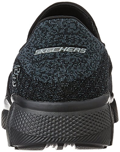 Skechers Sport Heren Equalizer 2,0 Slip Op Loafer Zwart