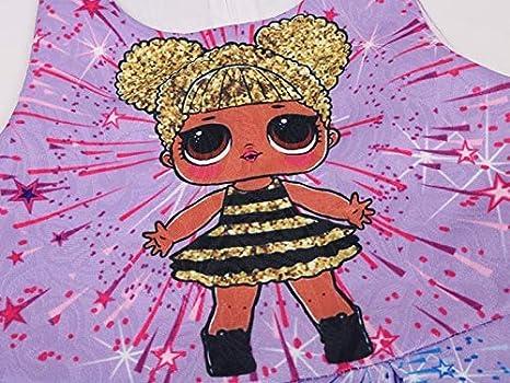 Yiding Toddler Girl Princess Dress Sleeveless Star Pattern Dress Skirt