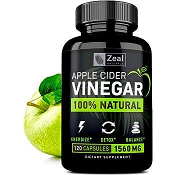 Amazon.com: 100% Natural Raw Apple Cider Vinegar Pills
