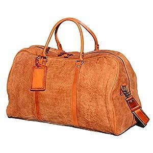 Iblue Weekender Full Grain Leather Duffel Bag