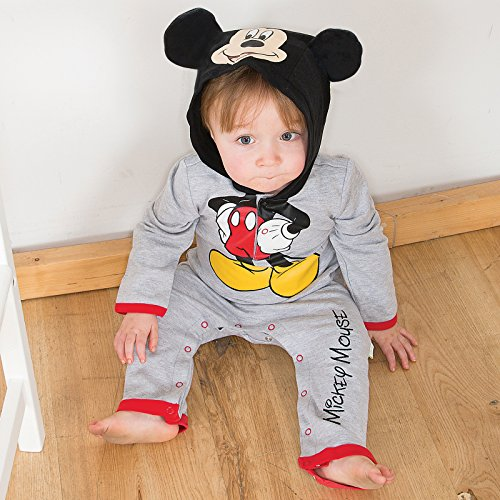Disney Mickey Mouse Romper And Hat Fancy Dress 0-3 Months