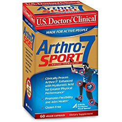 U.S. Doctor's Clinical Arthro-7 Joint Supplement, Sport, 60 Count