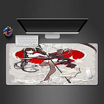 cmhai Anime Dark Girl Mouse Pad para Juegos Impermeables Game Player Game Pad Computer Office Teclado Ultrafinas Manteles De Mesa 900 * 400 * 3Mm: Amazon.es: Electrónica