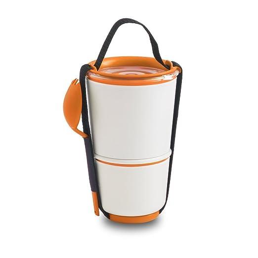 2 opinioni per Black+Blum- Scatola salva freschezza per alimenti, colore: Arancione
