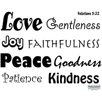 Amazon Com But The Fruit Of The Spirit Wall Decal