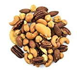 Anna and Sarah Roasted & Unsalted Premium Mixed Nuts (No Peanuts) in Resealable Bag, 2 Lbs