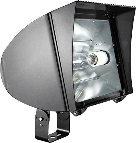 UPC 019813001838, RAB Lighting FXLH400TPSQ/PC Flexflood Xl 400W Mh PSQT HPF Pulse Start Trun and 120V Pc, Bronze