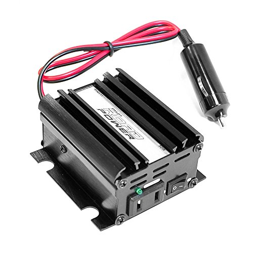 Pyle PINV11 Plug In Car 50 Watt 12V DC to 115 Volt AC Power Inverter with Modified Sine Wave (Renewed)