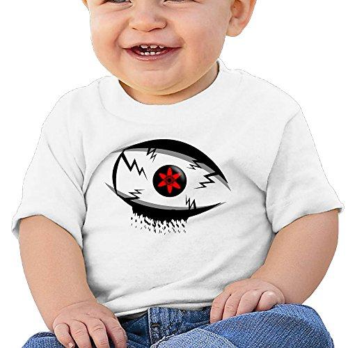 Price comparison product image Boss-Seller SASUKE Short Sleeve Shirt For 6-24 Months Newborn Baby Size 18 Months White