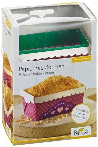 RBV Birkmann 441934 Papierbackform, klein - My little Bakery