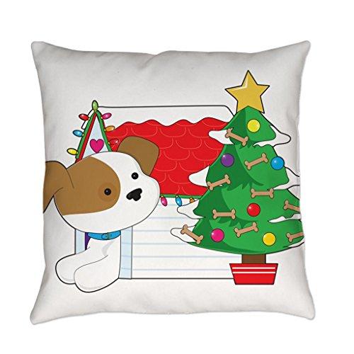 Comi Christmas Dog House Home Decor Pillow Case Cushion Cover 20