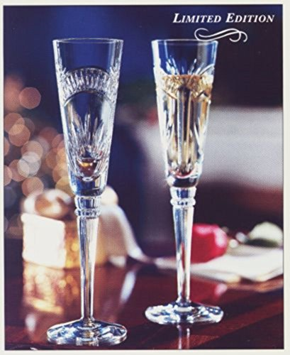 Fine Crystal Toasting Flutes - Lenox Limited Millennial Edition - For The New Year or Wedding