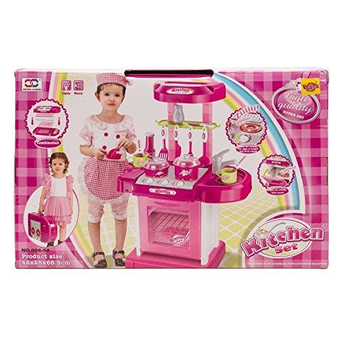 kitchen set kids luxury battery