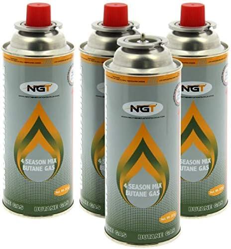 NGT Lata de gas butano de 227 g en paquete de 4 unidades ...