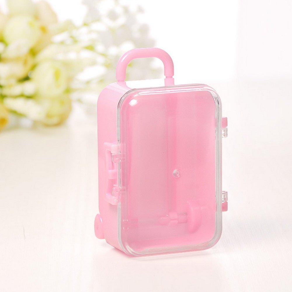 Amazon.com: Merssavo Funny Mini Travel Hard Suitcase Box Wedding ...