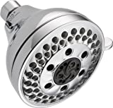 Delta Faucet 5-Spray Touch Clean H2Okinetic Shower Head, Chrome 52637-20-PK