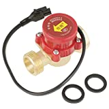 HT-60 220V 0.5A G3/4''-3/4'' Thread Water Flow Sensor Switch for Booster Pump