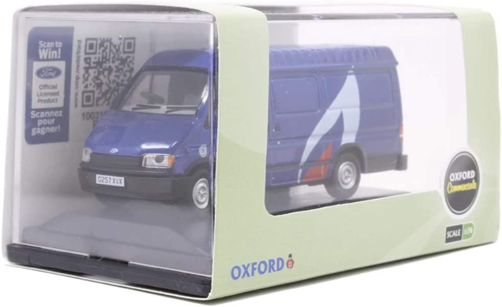 Oxford Diecast 1//76 Ford Transit Mk3 British Gas