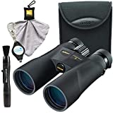 Nikon PROSTAFF 5 12X50mm Binoculars (7573) Bundle with Nikon Carry Case, Lens Pen