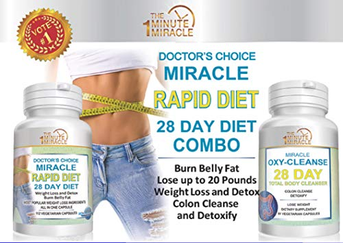 Miracle Rapid Diet 28 Day Diet Combo