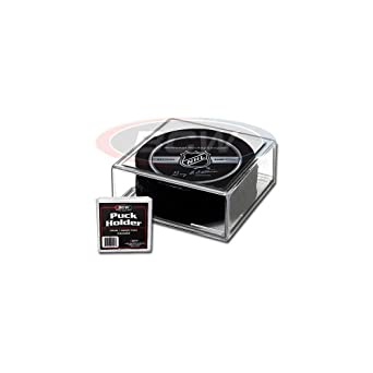 BCW 1-PH Hockey Puck Display Case Cube Square Holder